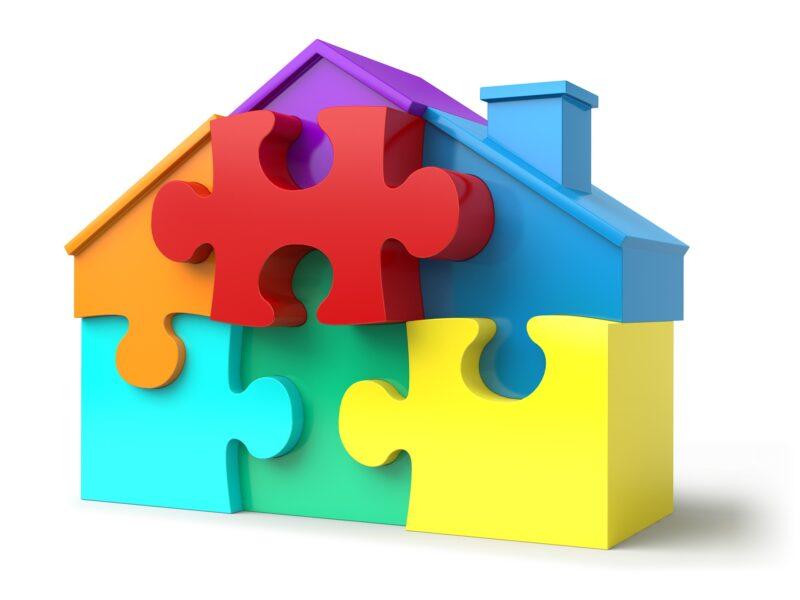 パズルの家